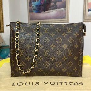 Auth Louis Vuitton Monogram Crossbody Bag 💼